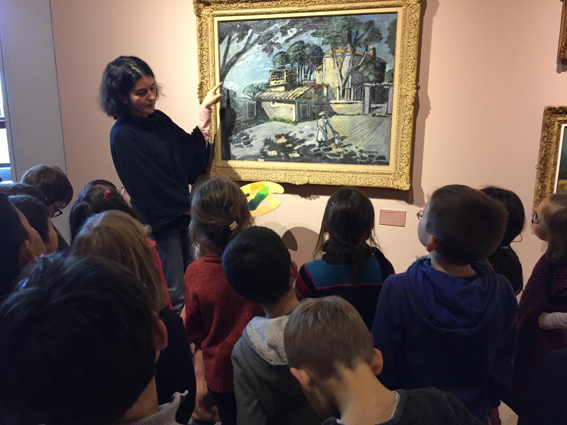 Visite du Musée Richard Anacréon de Granville